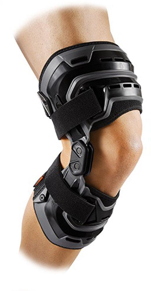 【ラッキーシール対象】McDavid(マクダビッド)ボディケアサポーター・テープバイオロジックス ニーブレイス 右膝用M4200Rブラック