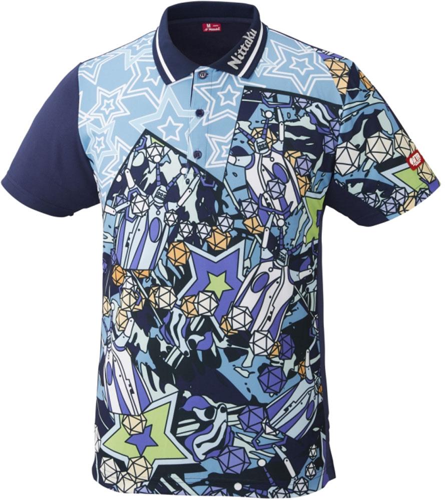 ニッタク(Nittaku)卓球ゲームシャツ ミラボシャツNW2184