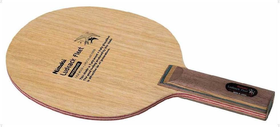【ラッキーシール対象】ニッタク(Nittaku)卓球ラケットルデアックフリート STNC0339