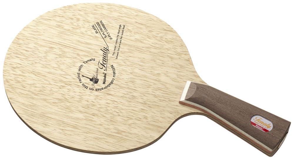 【ラッキーシール対象】ニッタク(Nittaku)卓球ラケット(卓球 シェークラケット) テナリーアコースティックカーボンインナーNC0428