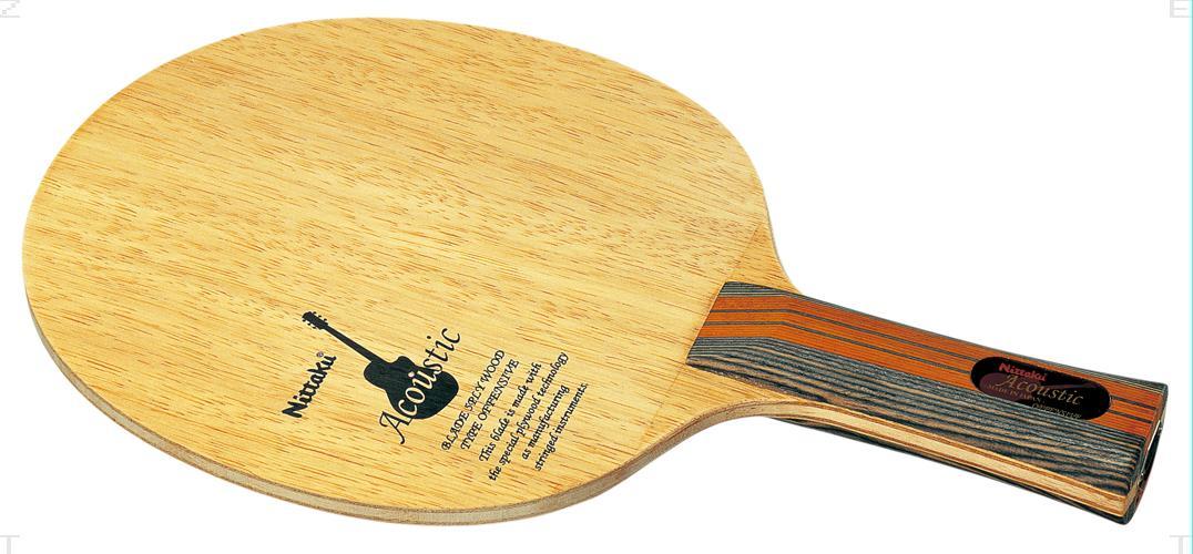 【ラッキーシール対象】 ニッタク(Nittaku)卓球ラケットアコースティック FLNE6760
