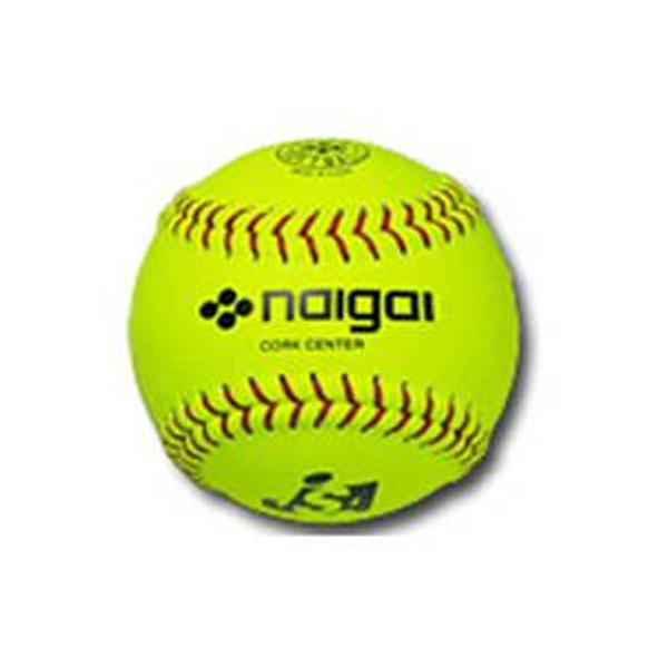 内外野球&ソフトソフトボール検定3号 革製 イエロー S3KAY