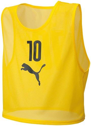 【ラッキーシール対象】PUMA(プーマ)サッカーゲームシャツ・パンツビブスセット(10枚組)92060404CYBER YELL