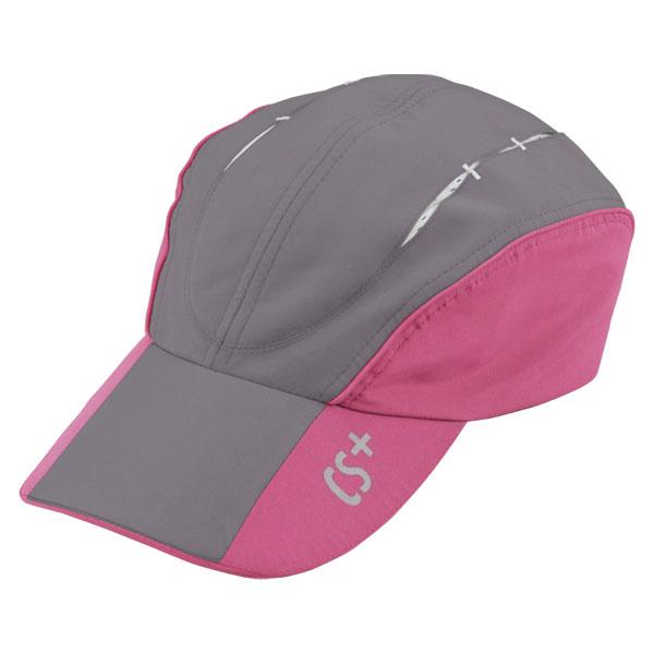 CAPTAIN タイムセール STAG キャプテンスタッグ アウトドア 特売 帽子 7日限定P最大10倍 グレー UM2516 アウトドアランニングキャップ ピンク
