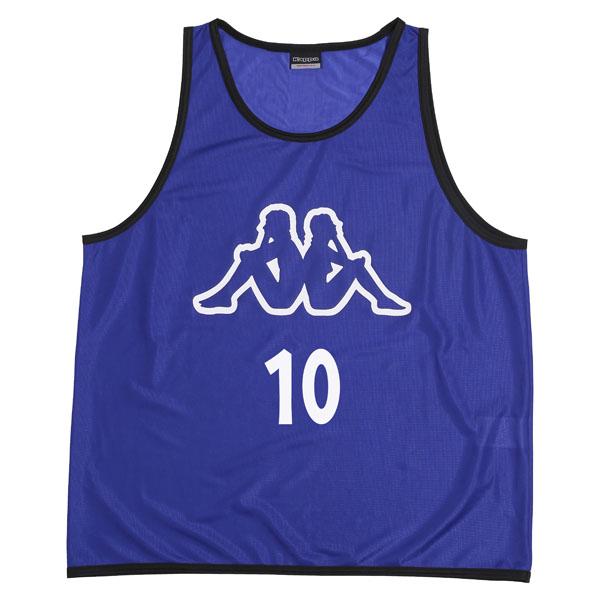 【ラッキーシール対象】Kappa(カッパ)サッカーゲームシャツ・パンツビブス(10枚組)KF418AZ36RB
