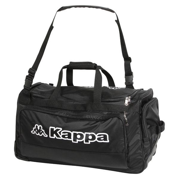 【ラッキーシール対象】Kappa(カッパ)サッカーバッグキャスター付きバッグ(約80L)KF418BA30BK1