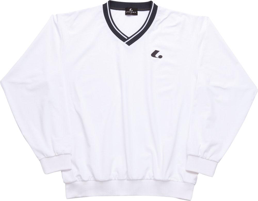 LUCENT(ルーセント)テニスUni ウィンドプラストレーナー(ホワイト)XLT1410