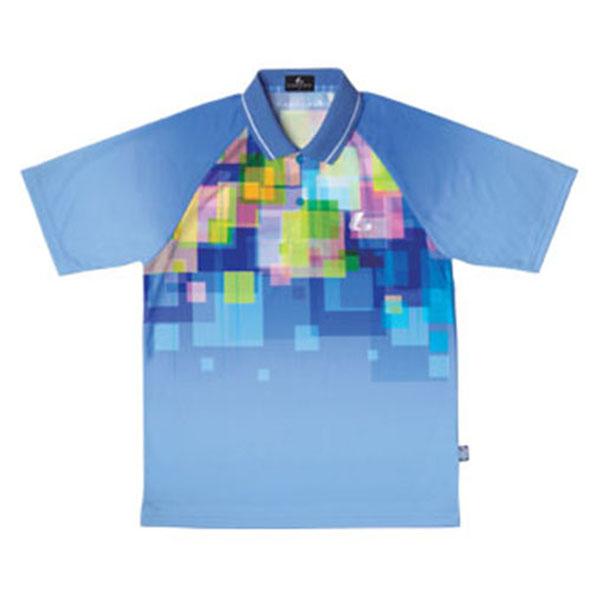 LUCENT(ルーセント)テニスUni ゲームシャツ(ライトブルー)XLP8127