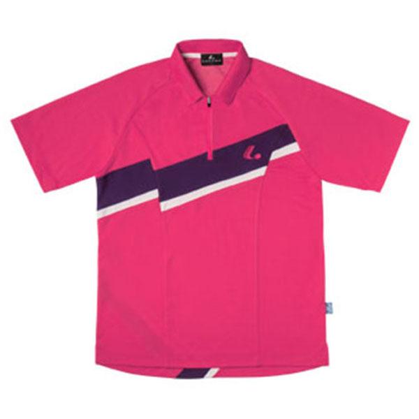 LUCENT(ルーセント)テニスUni ゲームシャツ(ピンク)XLP8141