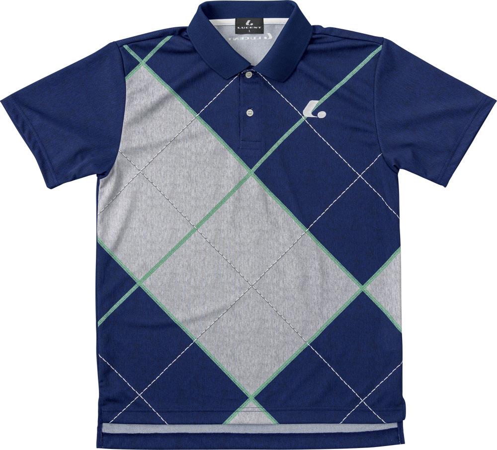 LUCENT(ルーセント)テニスUNI ゲームシャツ ネイビーXLP8386