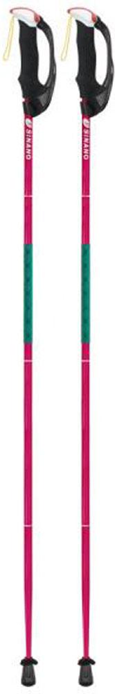 【ラッキーシール対象】SINANO(シナノ)アウトドアスキーポール登山 トレイルランニング 専用ポール トレランポール 13.6 Pro レッド 115 cm113613