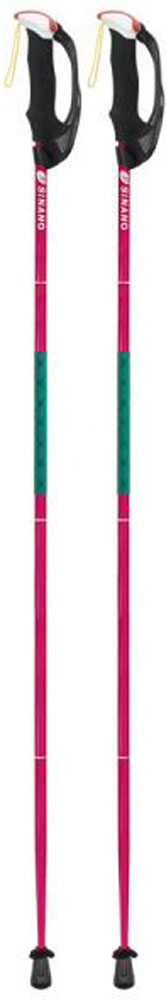 【ラッキーシール対象】SINANO(シナノ)アウトドアスキーポール登山 トレイルランニング 専用ポール トレランポール 13.6 Pro レッド 120 cm113614