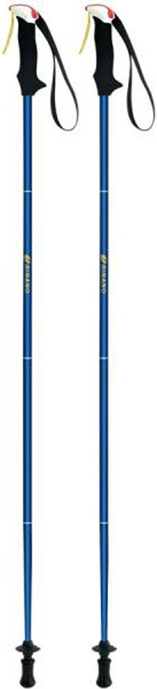 【ラッキーシール対象】SINANO(シナノ)アウトドアスキーポール登山 トレイルランニング 専用ポール トレランポール 14.0 ブルー 100 cm113620