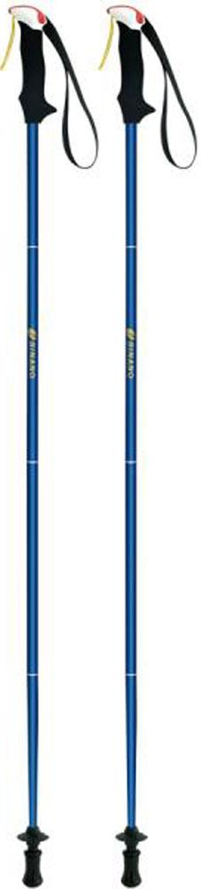【ラッキーシール対象】SINANO(シナノ)アウトドアスキーポール登山 トレイルランニング 専用ポール トレランポール 14.0 ブルー 105 cm113621