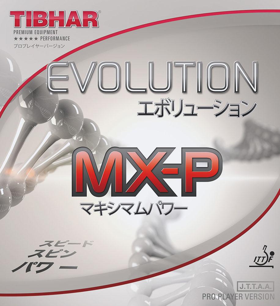 TIBHAR(ティバー)卓球卓球ラバー エボリューション MX‐P 黒 1.9mmBT146153