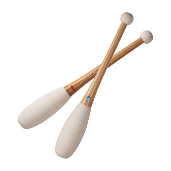 【ラッキーシール対象】ササキ(SASAKI)新・体操FT器具・備品男子試合用こん棒M-370M370ホワイト