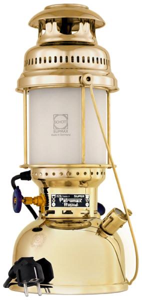 【ラッキーシール対象】Petromax(ペトロマックス)アウトドア食器・燃料エレクトロ ブラス12509