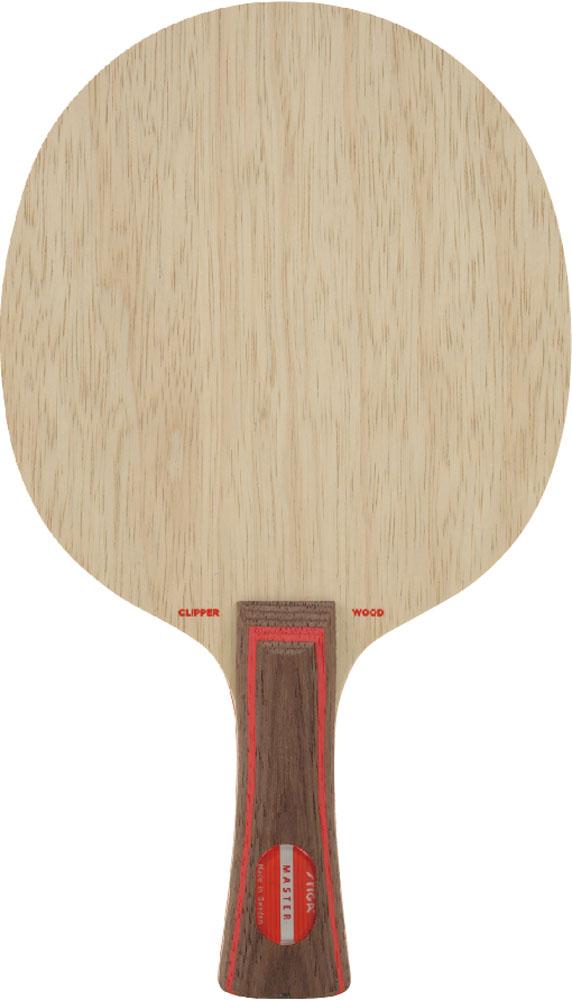 【ラッキーシール対象】STIGA(スティガ)卓球ラケットシェークラケット CLIPPER WOOD MASTER(クリッパーウッド フレア)102035