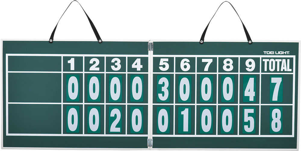 【ラッキーシール対象】トーエイライト野球&ソフト器具・備品ハンディー野球得点板B2467