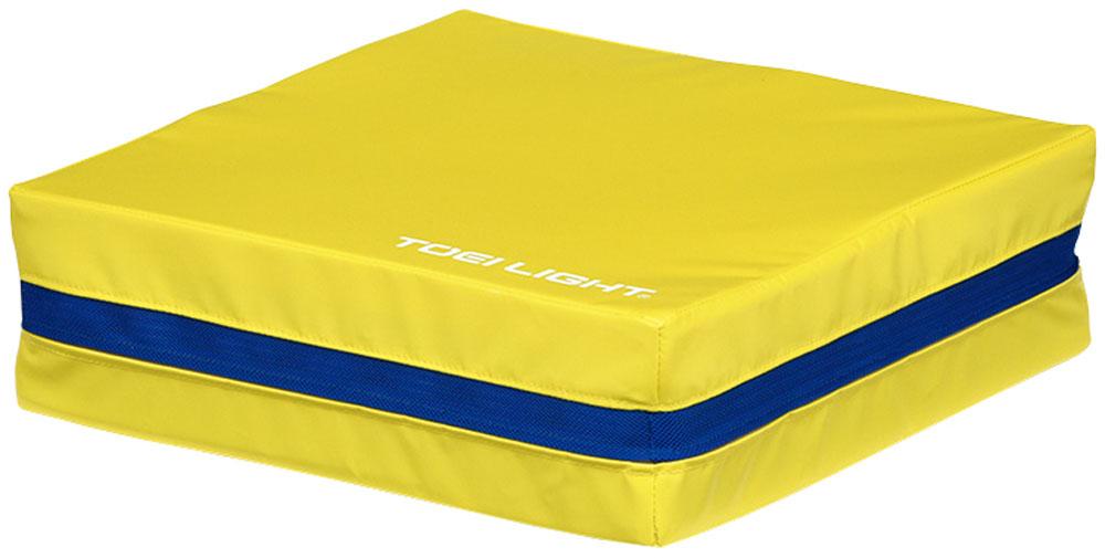 【ラッキーシール対象】トーエイライト学校体育器具器具・備品ジャンプ&スプリングマット3 黄T1877Y