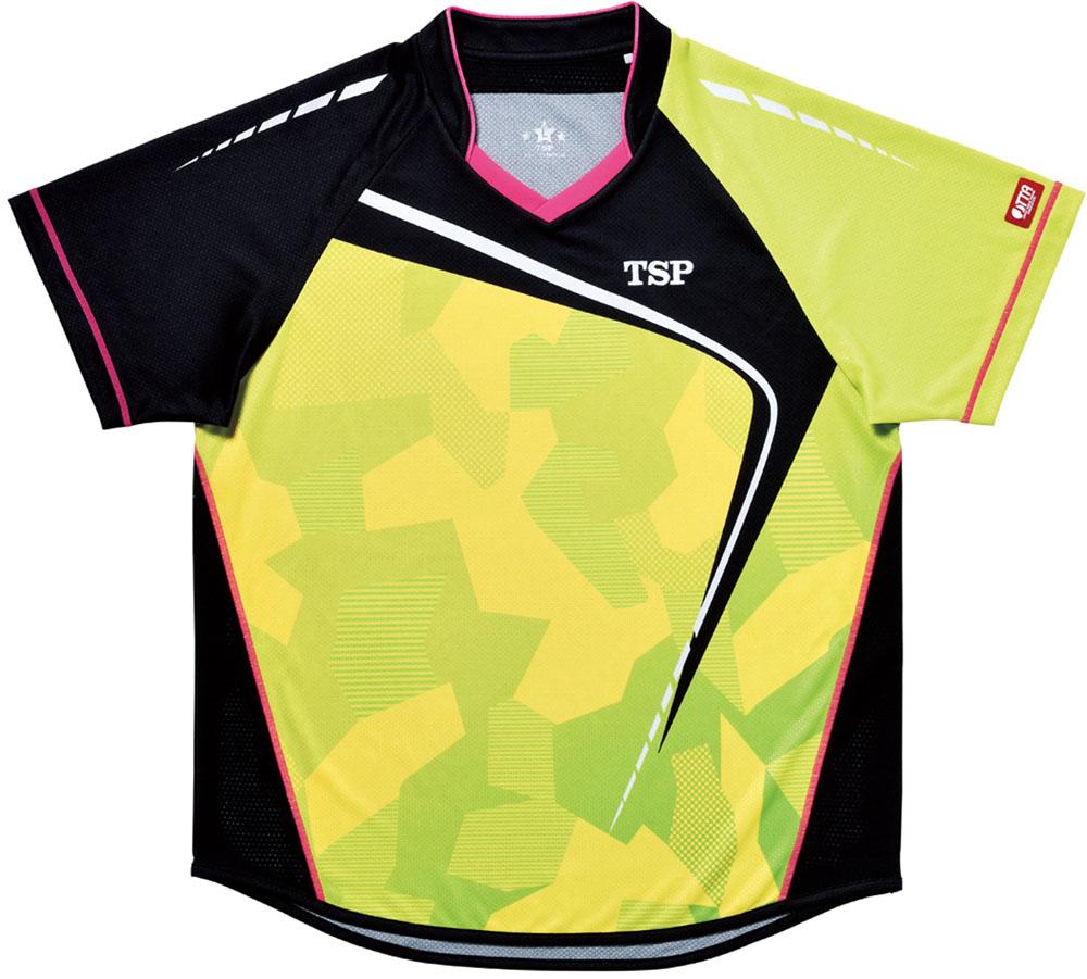 TSP卓球【男女兼用 卓球用ウェア】 フォルツァシャツ Viscotecs031419