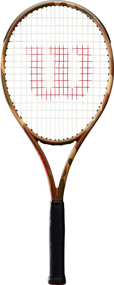 【ラッキーシール対象】Wilson(ウイルソン)テニスラケットテニスラケット BURN 100LS CAMO G2WRT7412202