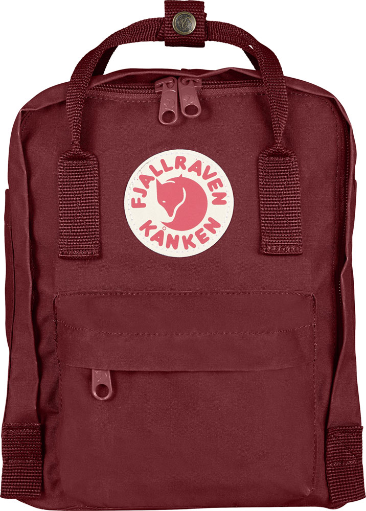 【ラッキーシール対象】FJALL RAVEN(フェールラーベン)アウトドアバッグKanken Mini23561OX RED