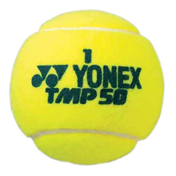 【ラッキーシール対象】Yonex(ヨネックス)テニスボールマッスルパワーツアー(4個入り×3)TMP50Tイエロー