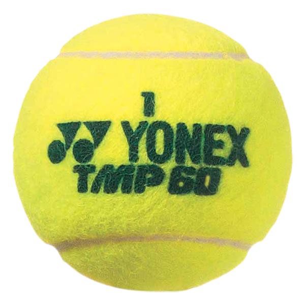 【ラッキーシール対象】Yonex(ヨネックス)テニスボールマッスルパワー60 (4個入り×3缶)TMP60イエロー