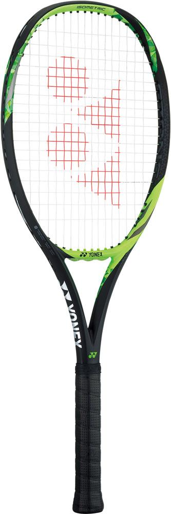 【ラッキーシール対象】 Yonex(ヨネックス)テニスラケット(硬式テニス用ラケット(フレームのみ)) Eゾーン 100(SONY製スマートテニスセンサー対応)17EZ100ライムグリーン