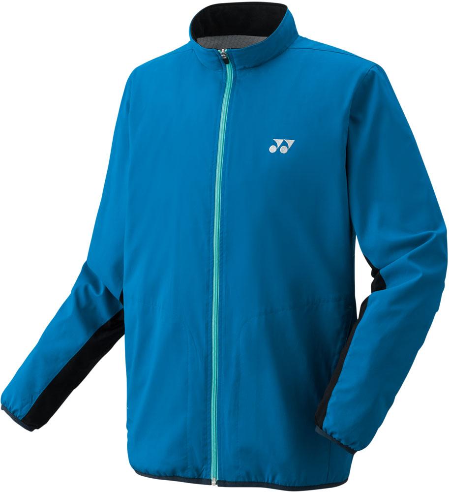 【ラッキーシール対象】Yonex(ヨネックス)テニスウインドウェアユニセックス 裏地付ウィンドウォーマーシャツ(フィットスタイル)70059インフィニットブルー