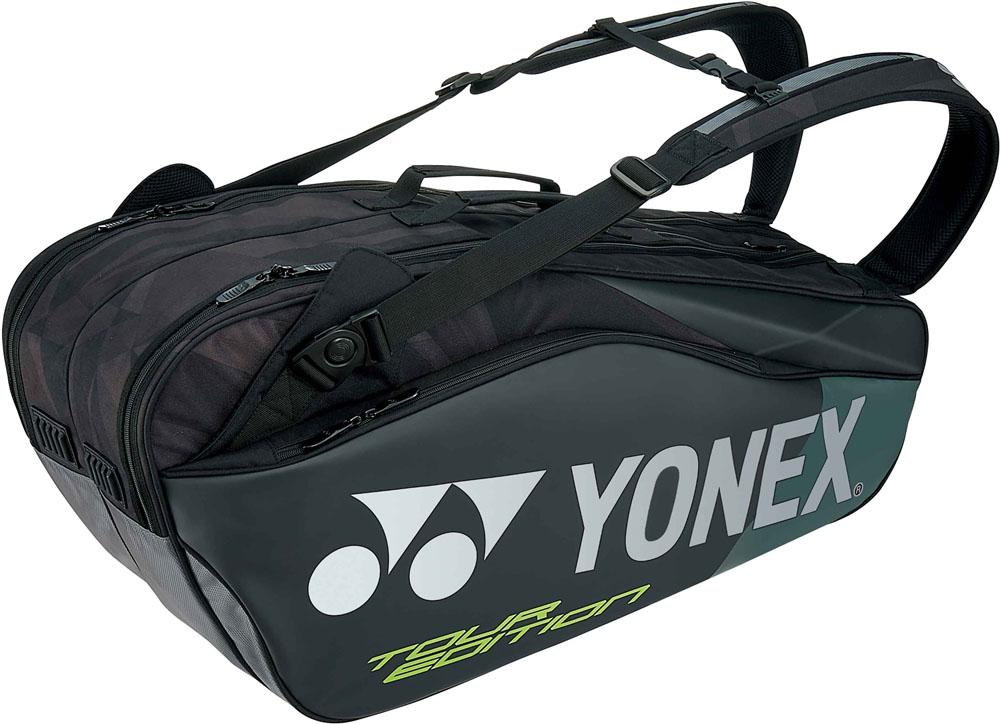 【ラッキーシール対象】Yonex(ヨネックス)テニスバッグラケットバッグ6 ラケット6本収納BAG1802Rブラック