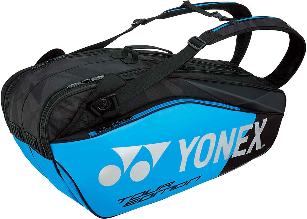 【ラッキーシール対象】Yonex(ヨネックス)テニスバッグラケットバッグ6 ラケット6本収納BAG1802Rインフィニットブルー