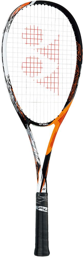 【ラッキーシール対象】Yonex(ヨネックス)テニスラケット【ソフト(軟式)テニスラケット(フレームのみ)】 エフレーザー7VFLR7Vサイバーオレンジ