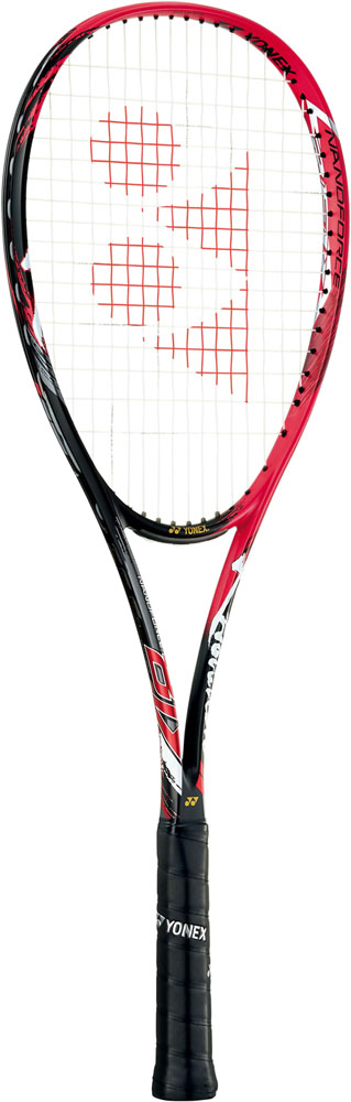 【ラッキーシール対象】Yonex(ヨネックス)テニスラケットNANOFORCE 8V REV(フレームのみ)NF8VRフレイムレッド