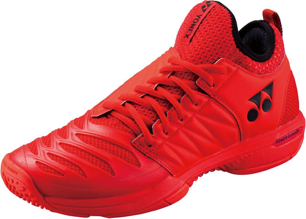 【ラッキーシール対象】Yonex(ヨネックス)テニスシューズテニスシューズ POWER CUSHION FUSIONREV3 MEN GC(パワークッション フュージョンレブ3 メン GC)SHTF3MGCレッド