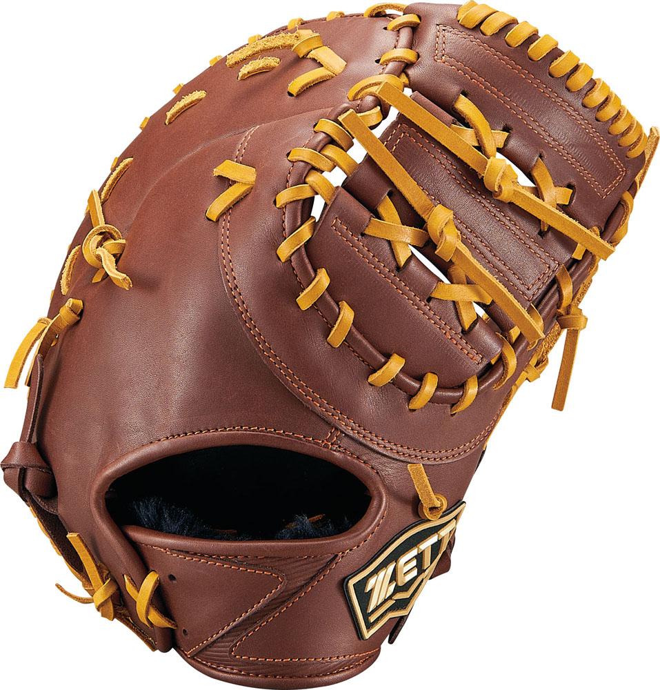 ZETT(ゼット)野球&ソフト野球グラブ少年軟式野球用 ファーストミット ゼロワンステージBJFB71913チョコB/オークB