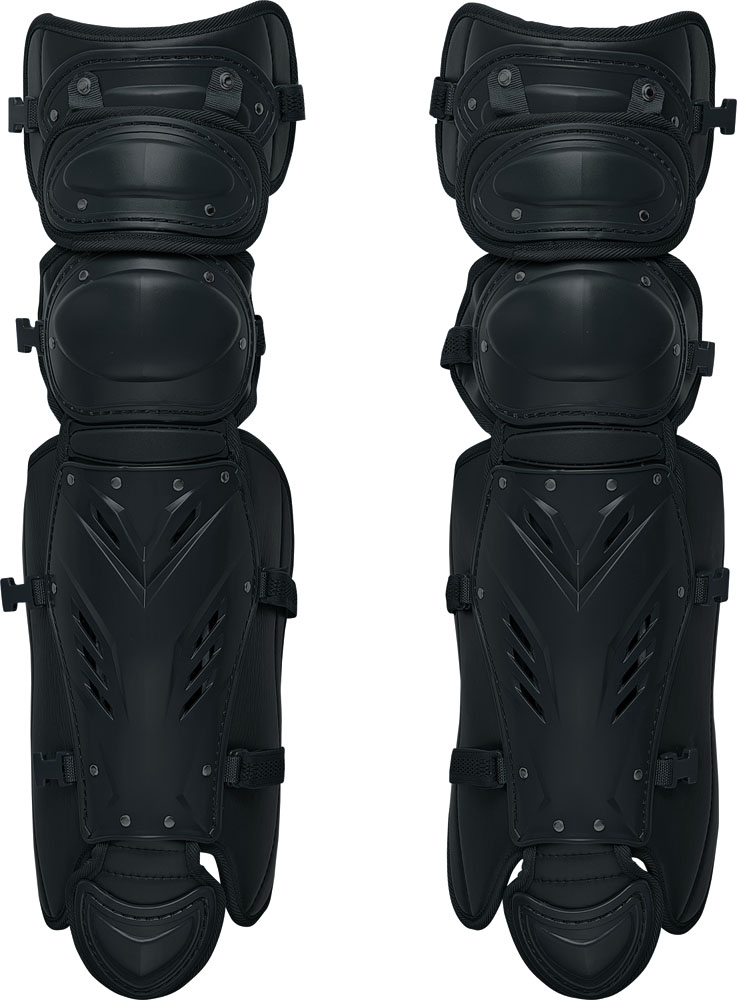 【ラッキーシール対象】ZETT(ゼット)野球&ソフトマスク・プロテクター【硬式野球用レガーツ】 プロステイタスBLL1265Mブラック