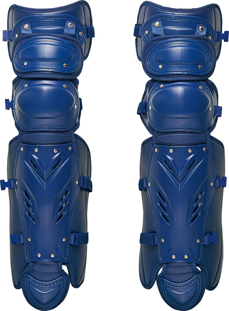 【ラッキーシール対象】ZETT(ゼット)野球&ソフトマスク・プロテクター【硬式野球用レガーツ】 プロステイタスBLL1265Mネイビー