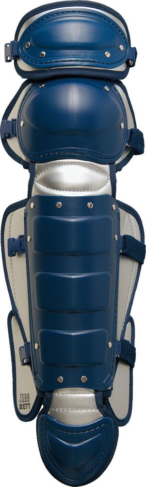 【ラッキーシール対象】ZETT(ゼット)野球&ソフトマスク・プロテクター軟式レガーツ  BLL-3233BLL3233ネイビーxシルバー