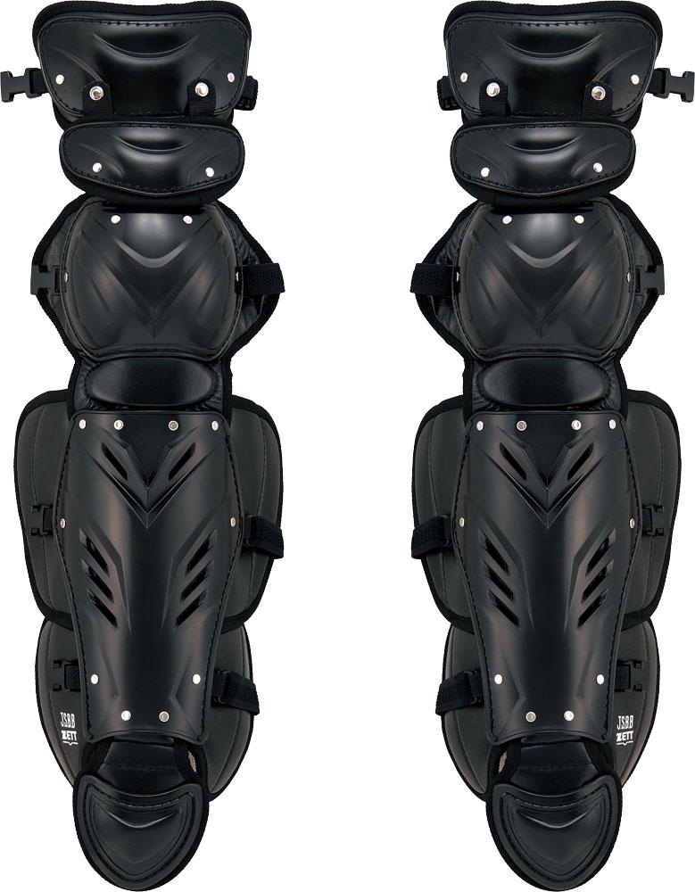 【ラッキーシール対象】ZETT(ゼット)野球&ソフトマスク・プロテクタープロステイタス 軟式野球用レガーツ BLL3295BLL3295ブラック