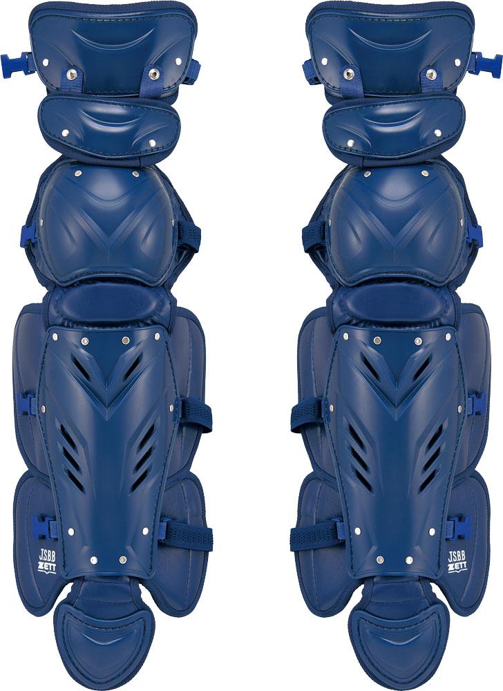 【ラッキーシール対象】 ZETT(ゼット)野球&ソフトマスク・プロテクタープロステイタス 軟式野球用レガーツ BLL3295BLL3295ネイビー
