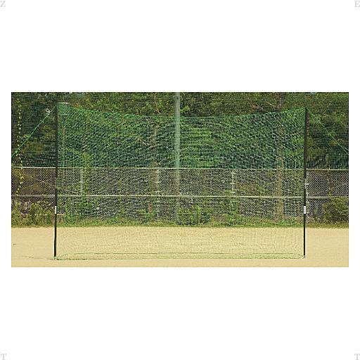 【ラッキーシール対象】ZETT(ゼット)野球&ソフトネット野球用バックネット(7x3m) BM9037BM9037