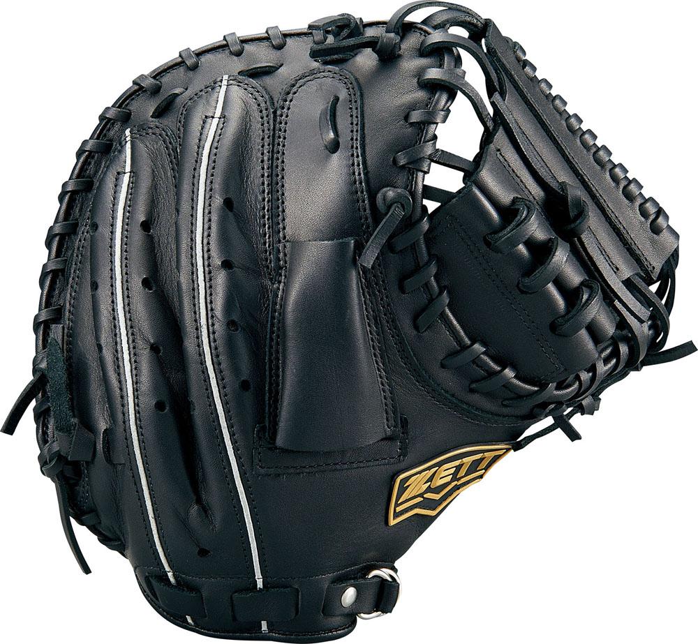 ZETT(ゼット)野球&ソフト野球グラブ野球 軟式キャッチミット 捕手用 デュアルキャッチBRCB34912ブラック