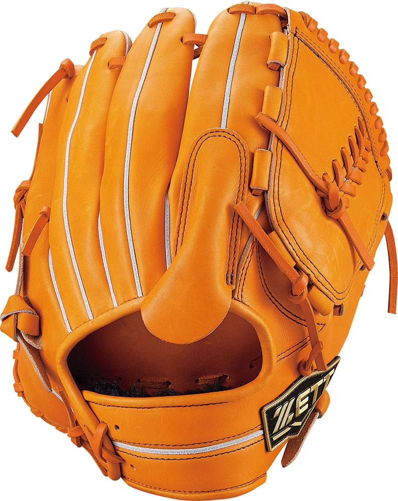 【ラッキーシール対象】ZETT(ゼット)野球&ソフト野球グラブ野球 軟式グラブ 投手用 ネオステイタスBRGB31911オレンジ