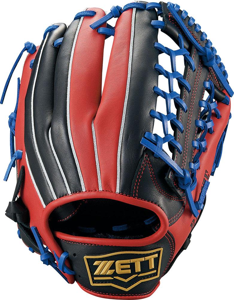 ZETT(ゼット)野球&ソフト野球グラブソフトボール グラブ オールラウンド用 リアライズBSGB52930ブラツク/レツド