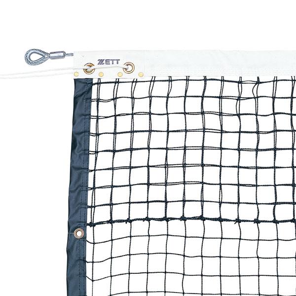 【ラッキーシール対象】ゼット体育器具テニスネット硬式テニスネット(硬式ダブル周囲テープ式)ZN1344