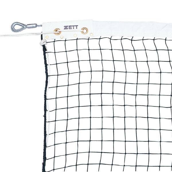 【ラッキーシール対象】ゼット体育器具テニスネットソフトテニスネット(シングタイプ)ZN1442