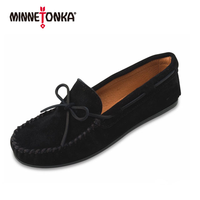 【ミネトンカ 正規代理店】MINNETONKA メンズ モカシン スエード 男性用 靴 シンプル プレゼント 父の日「CLASSIC MOC」919