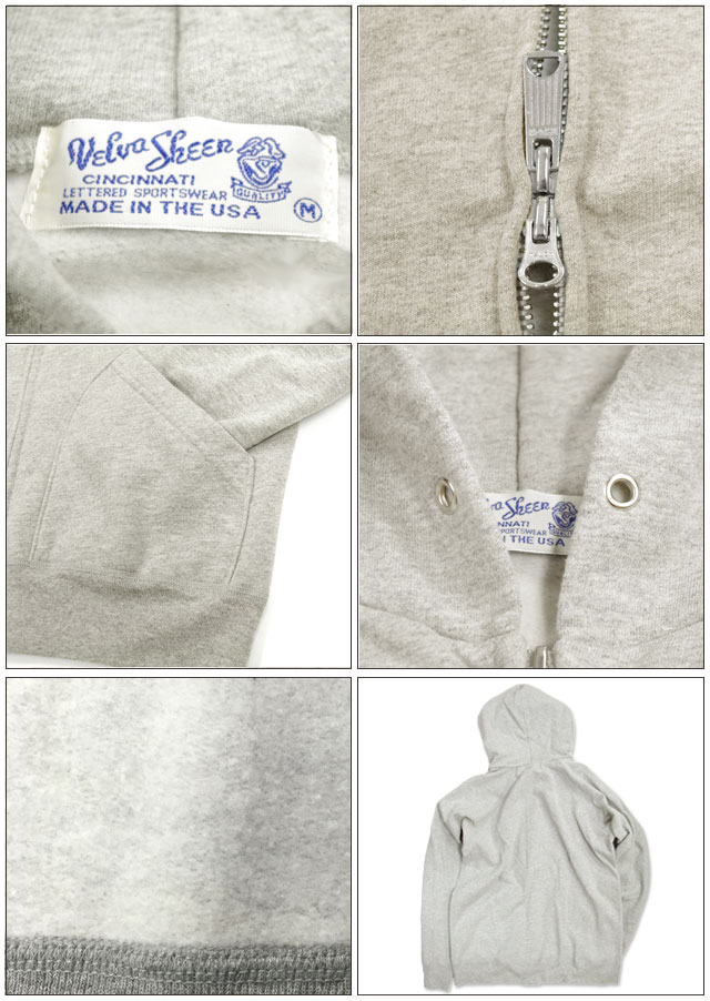 10 oz. hooded w-zip sweat Sheen】Pack 10 oz フーデッドダブルジップスウェット (161154) Japan authorised shop 10 oz parka casual